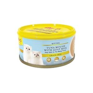 Me-O Delite Ton Balık ve Keçi Sütü Tahılsız Kedi Konservesi 80 Gr