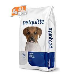 Petquitte Yavru Köpek Maması 15 Kg (4 AL 3 ÖDE)